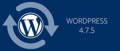 Wordpress 4.7.5